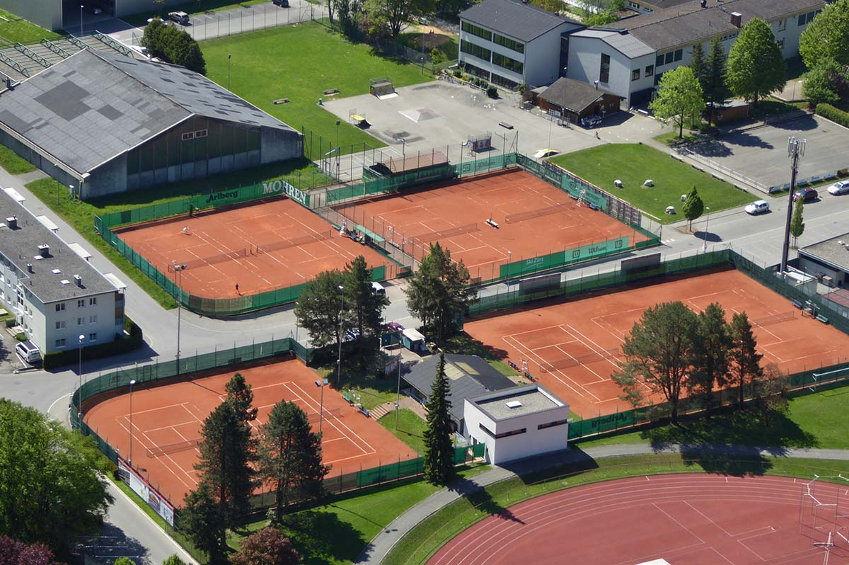Tennisplatz in Bludenz